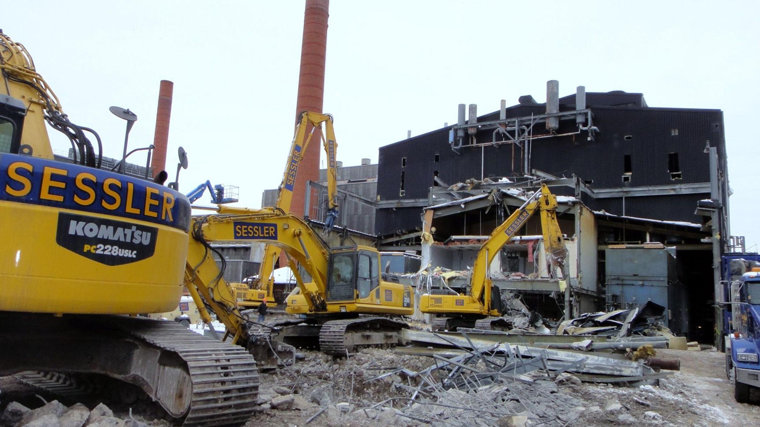 Industrial Demolition 105