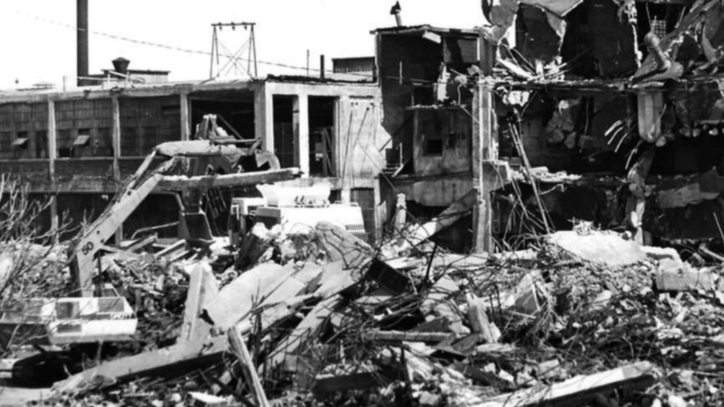 Elmira Fire Engine Co Demolition Sessler Wrecking