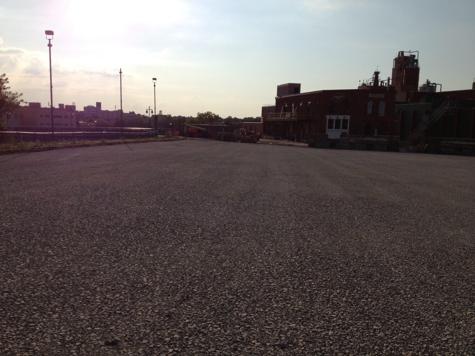 Genesee Parking lot