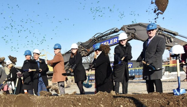 Groundbreaking Held for Downtown Utica Hospital