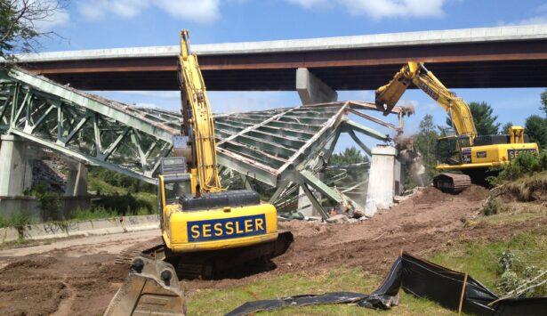 Sessler Wrecking Bridge Demolision